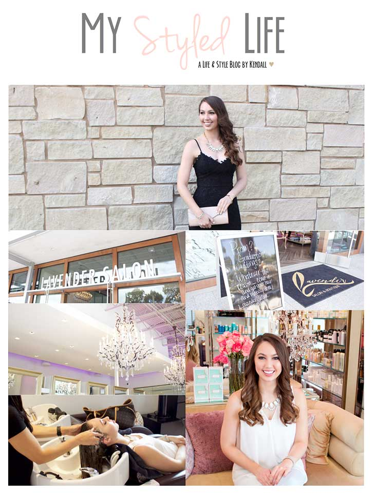 OC Blogger Kendall recounts her recent experience visiting Lavender Salon
